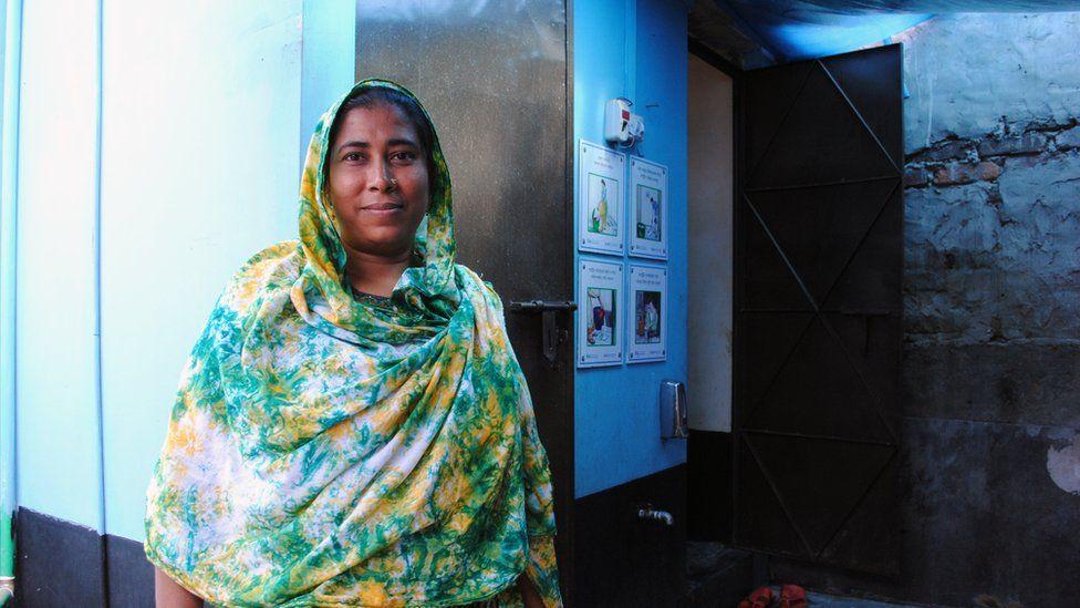 Community leader Nasima
