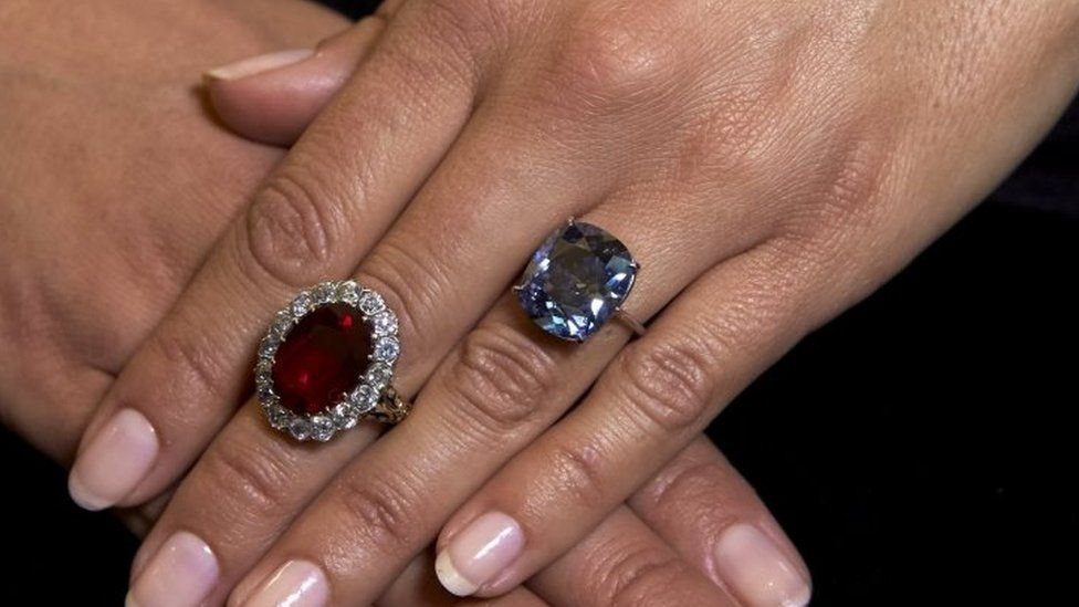 Tycoon Buys 48m Blue Diamond At Auction For Daughter Bbc News