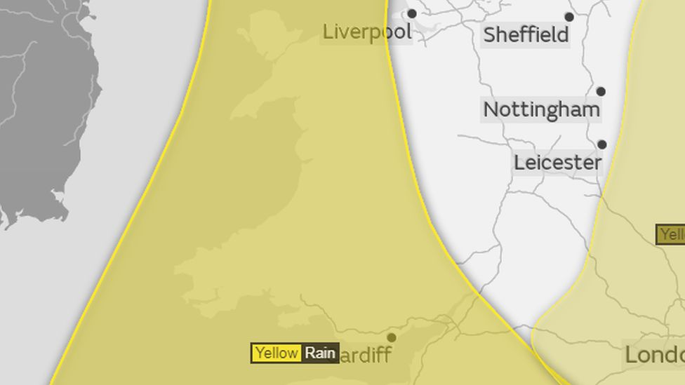 Wales weather warning
