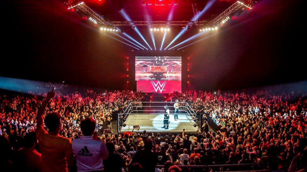 A WWE show in Switzerland