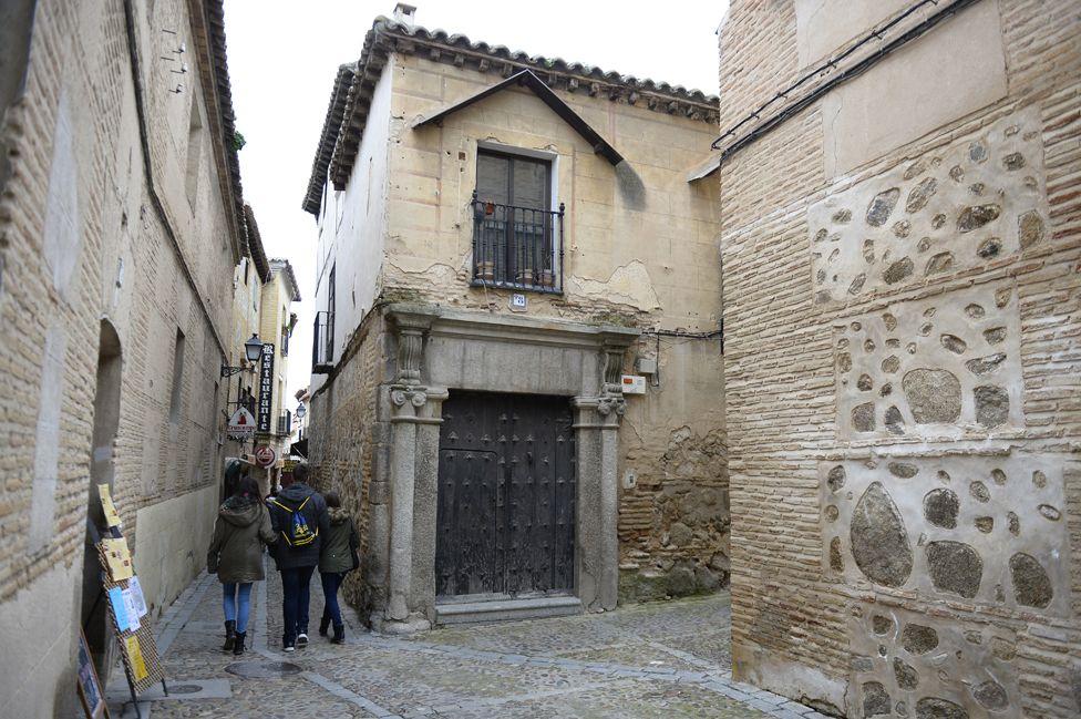 Old Jewish quarter of Toledo
