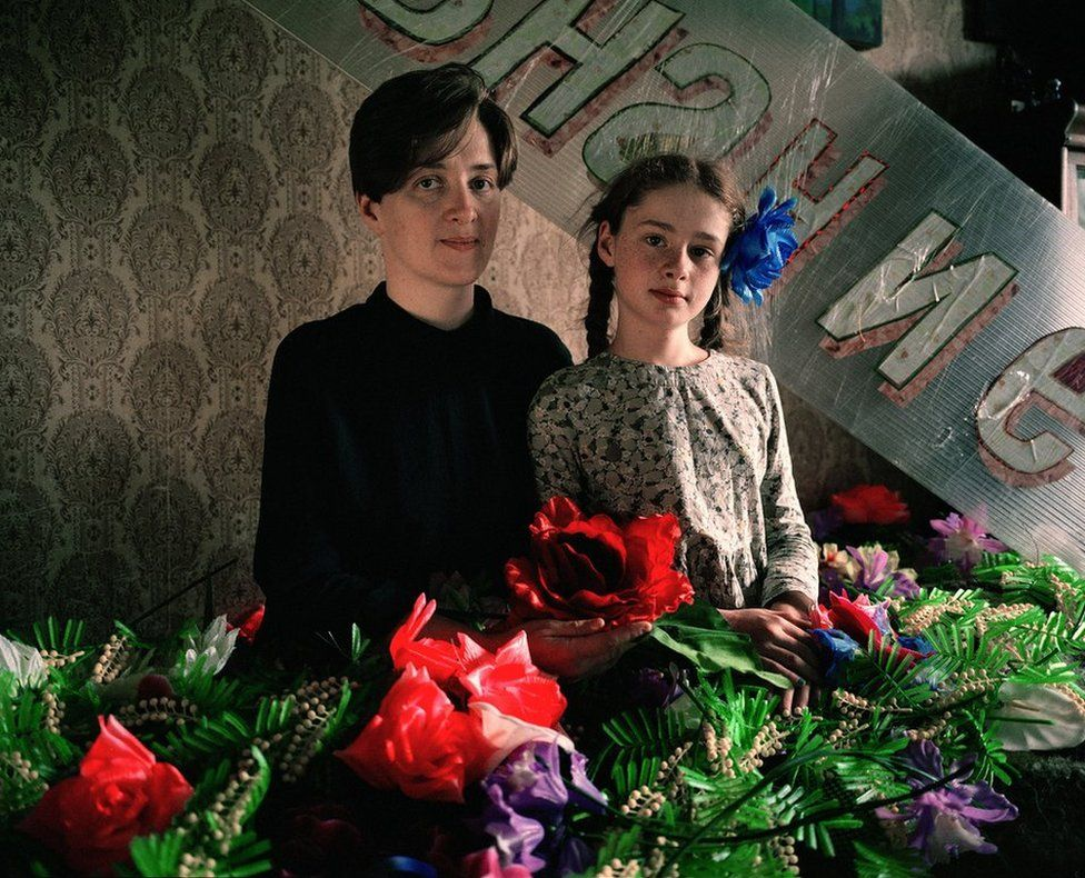 Irina Korina in her studio