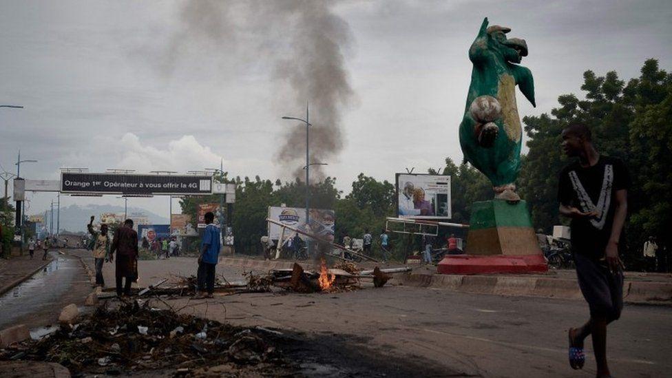 Protests in Mali