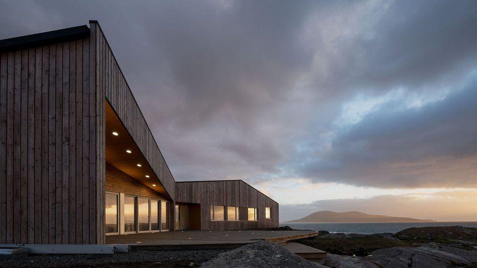 Pairc Niseaboist and Talla na Mara, Isle of Harris (combined £2.4m) - Rural Design for West Harris Trust