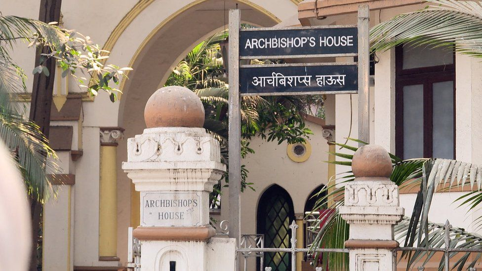 The Archbishop's house in Mumbai