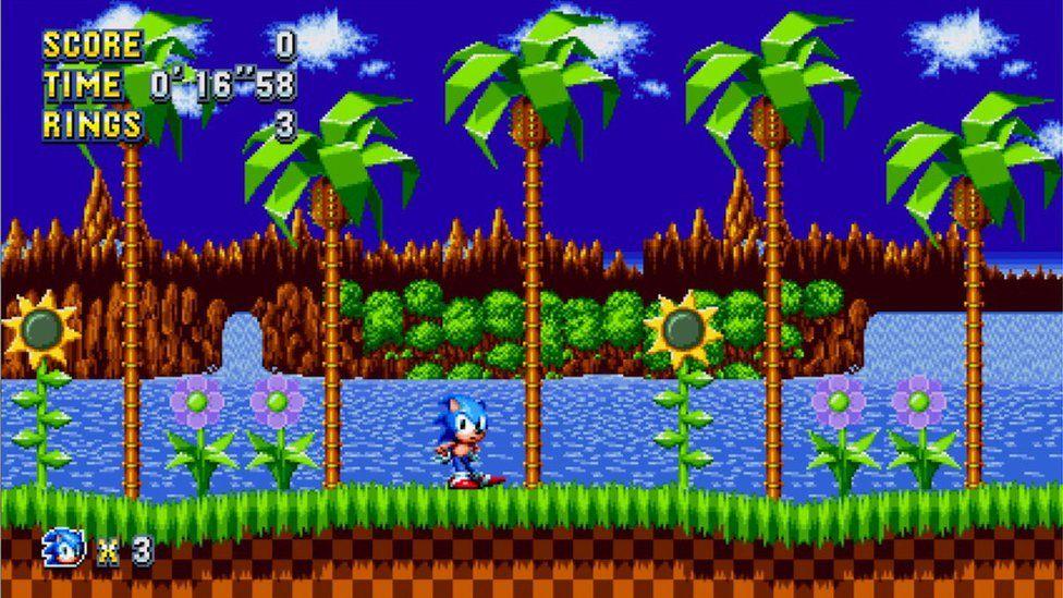 Jugabilidad de Sonic