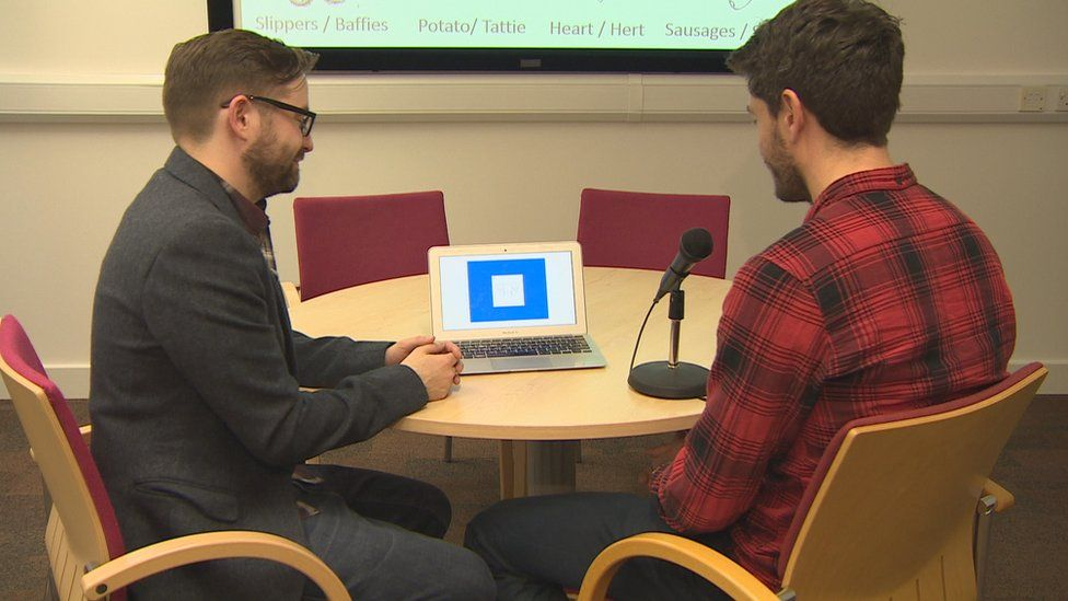 Psychologist Dr Neil Kirk has been carrying out research into dialects