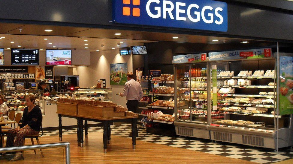 modern Greggs store