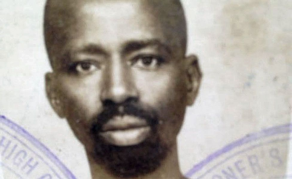Sheikh Osman Sharubutu as a young man