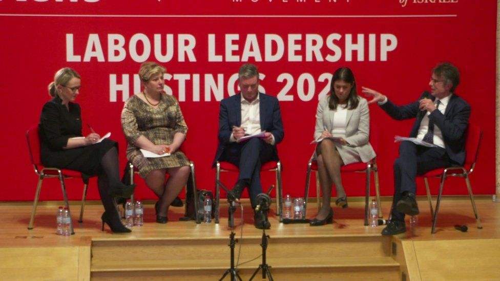 The Jewish Labour Movement hustings