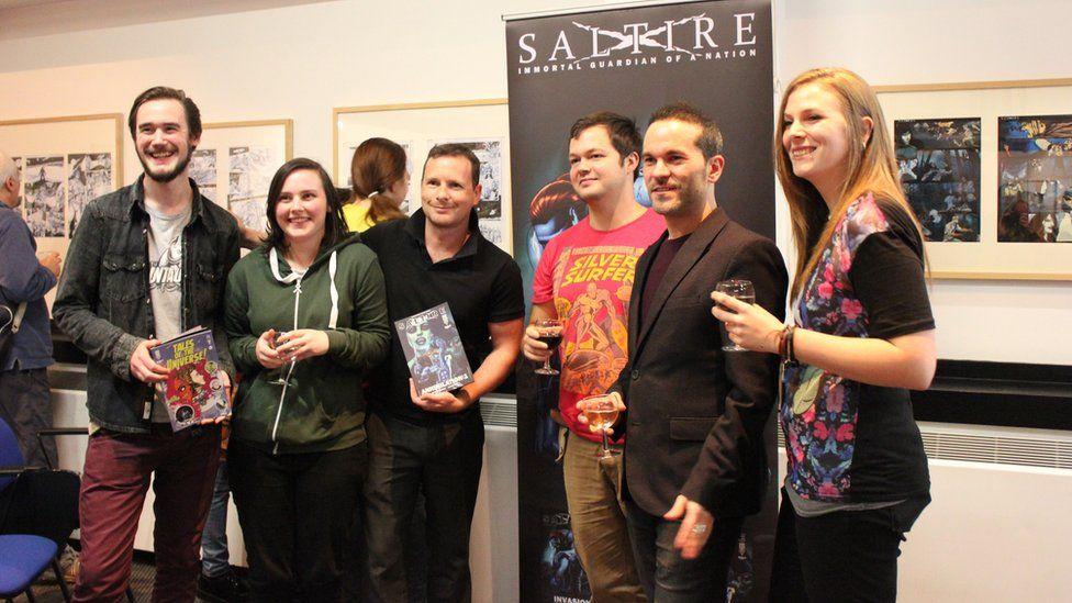 Saltire's team at Glasgow Comic Con