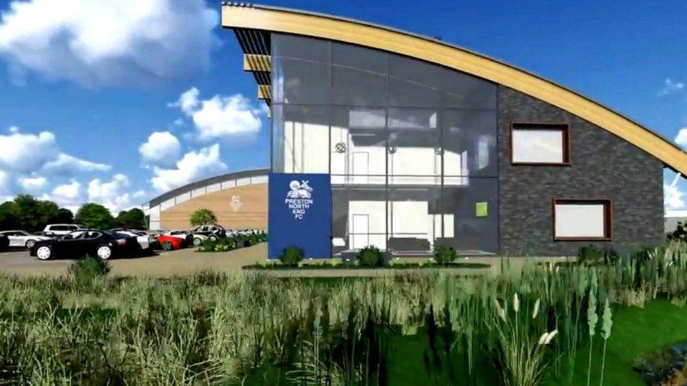 Artist's impression of Preston North End training ground