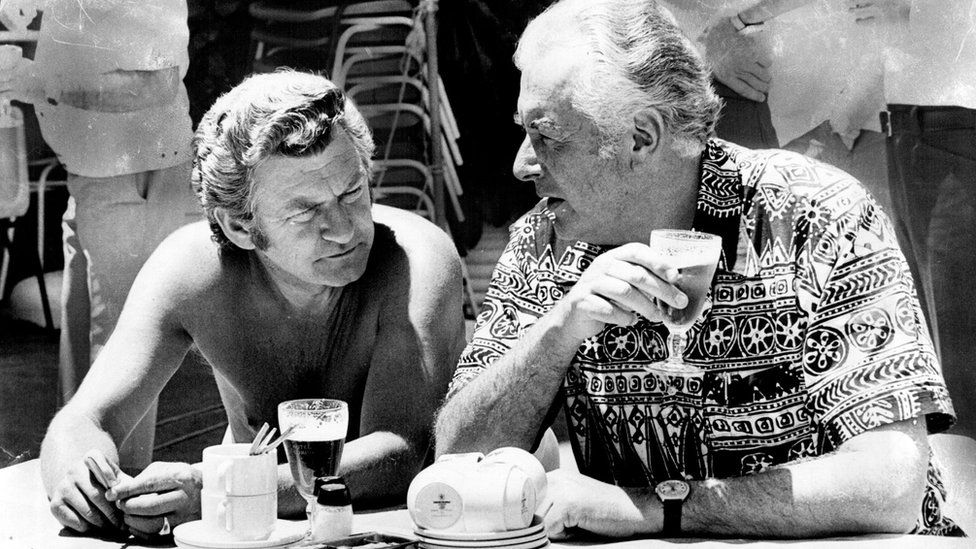 Bob Hawke and Gough Whitlam