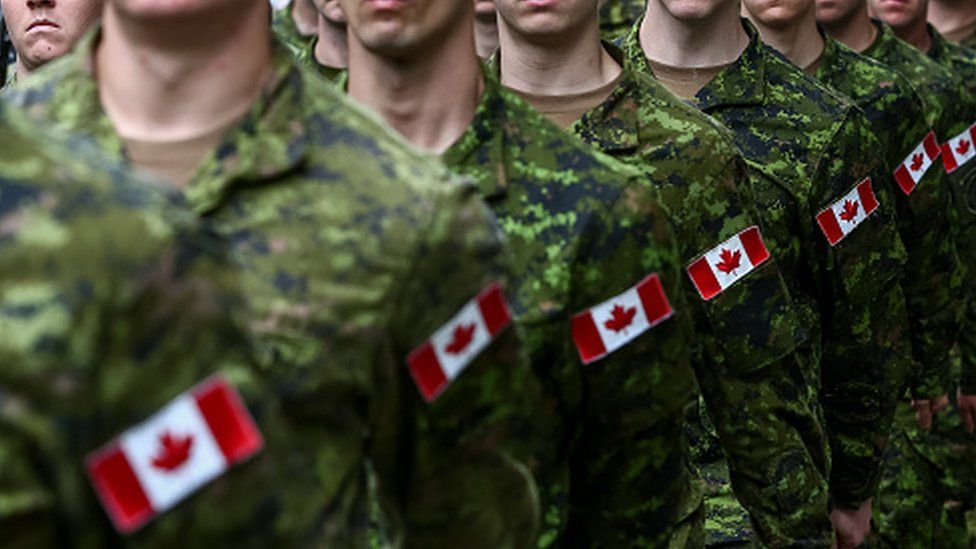 Canadian troops (15 August 2016)