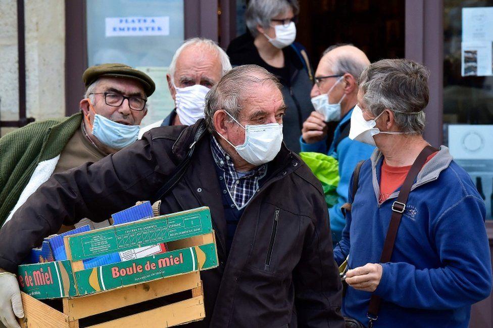 Coronavirus: France mandates masks for schools and transport - BBC ...