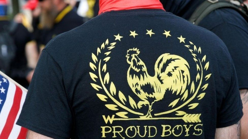 """Proud Boys"" Pumped For The Trump Shout-Out"