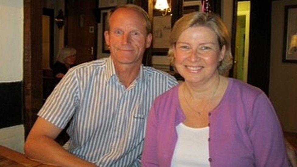 Iain and Sandra Naylor