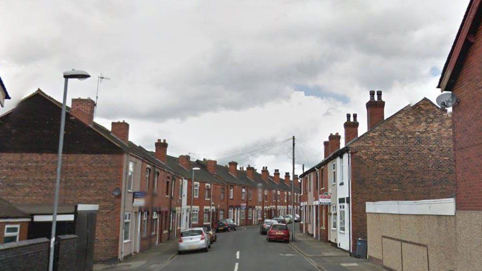 Carron Street in Fenton, Stoke-on-Trent