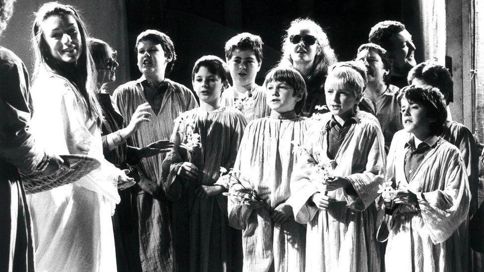 Cast in Otello