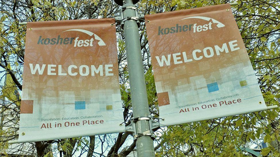 Signs for Kosherfest