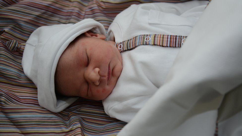 Moaza's baby boy
