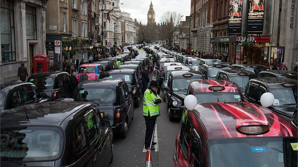 Black cab strike