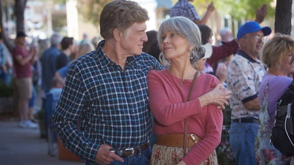 Robert Redford and Jane Fonda in Our Souls at Night