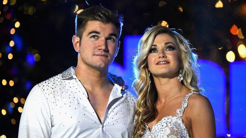 Alek Skarlatos, Lindsay Arnold: Dancing With The Stars Live Finale