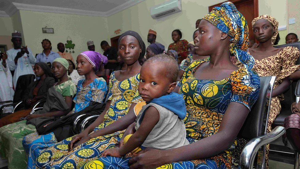 21 Chibok girls released in Nigeria