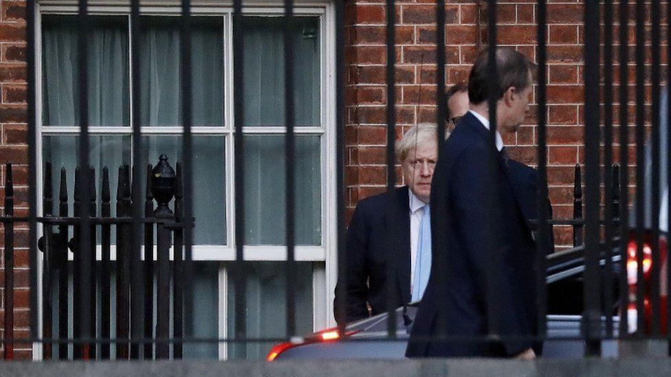 Boris Johnson leaving No 10 earlier