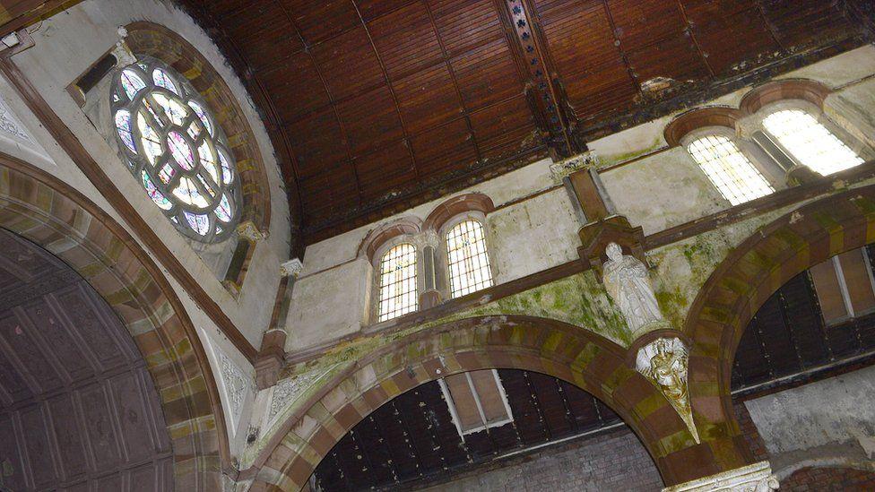 Interior of St Joseph's Church, Sailortown,