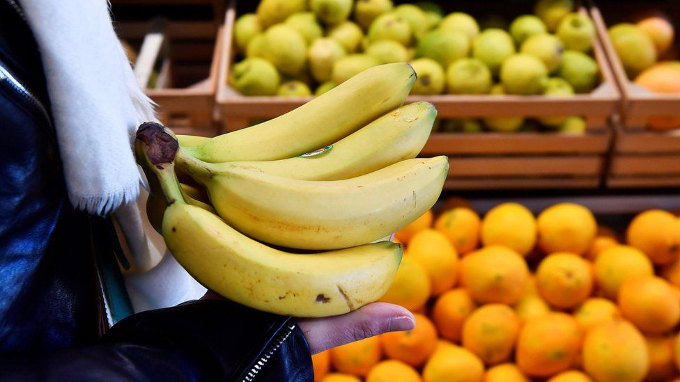Fruit at a supermarket