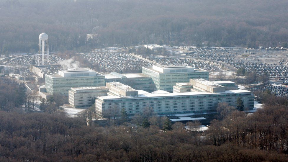 CIA headquarters - view