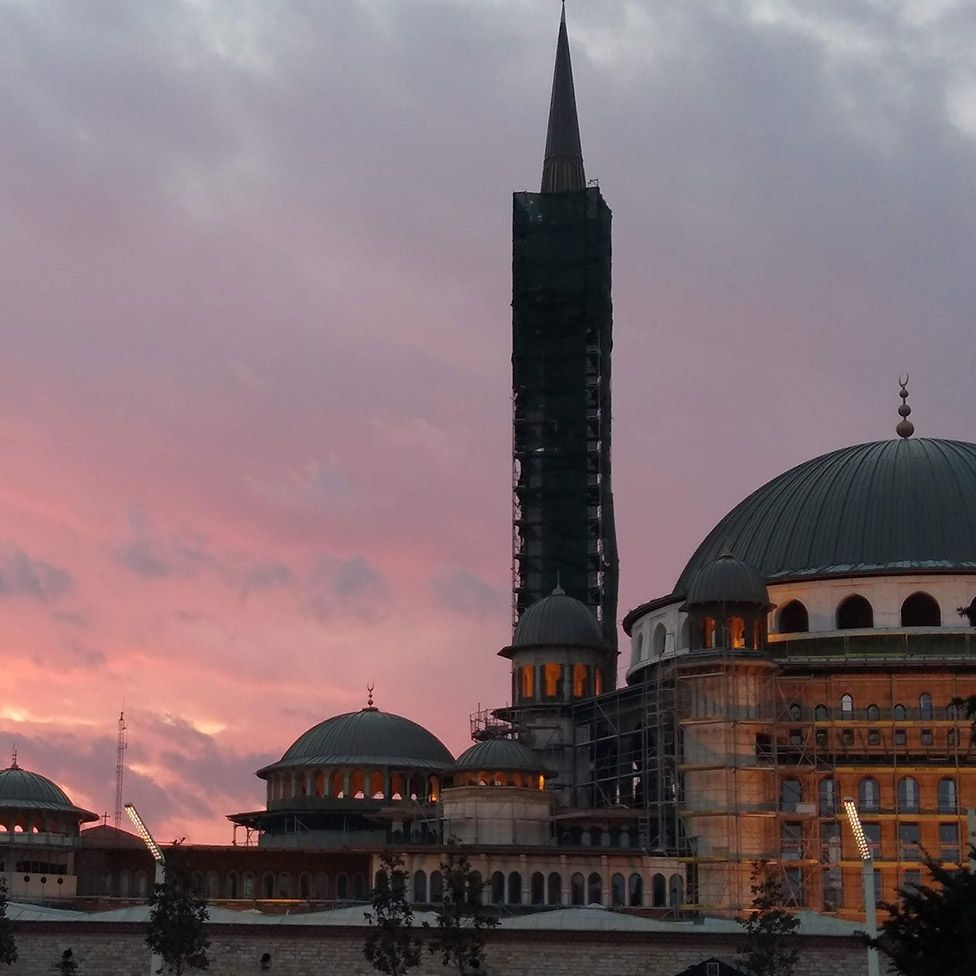 The mosque at dawn