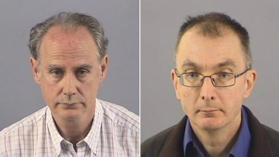 Richard Townsend (left) and Mark Metcalfe