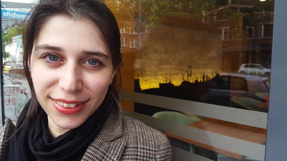 Dutch-Turkish journalist, Gulsah Ercetin
