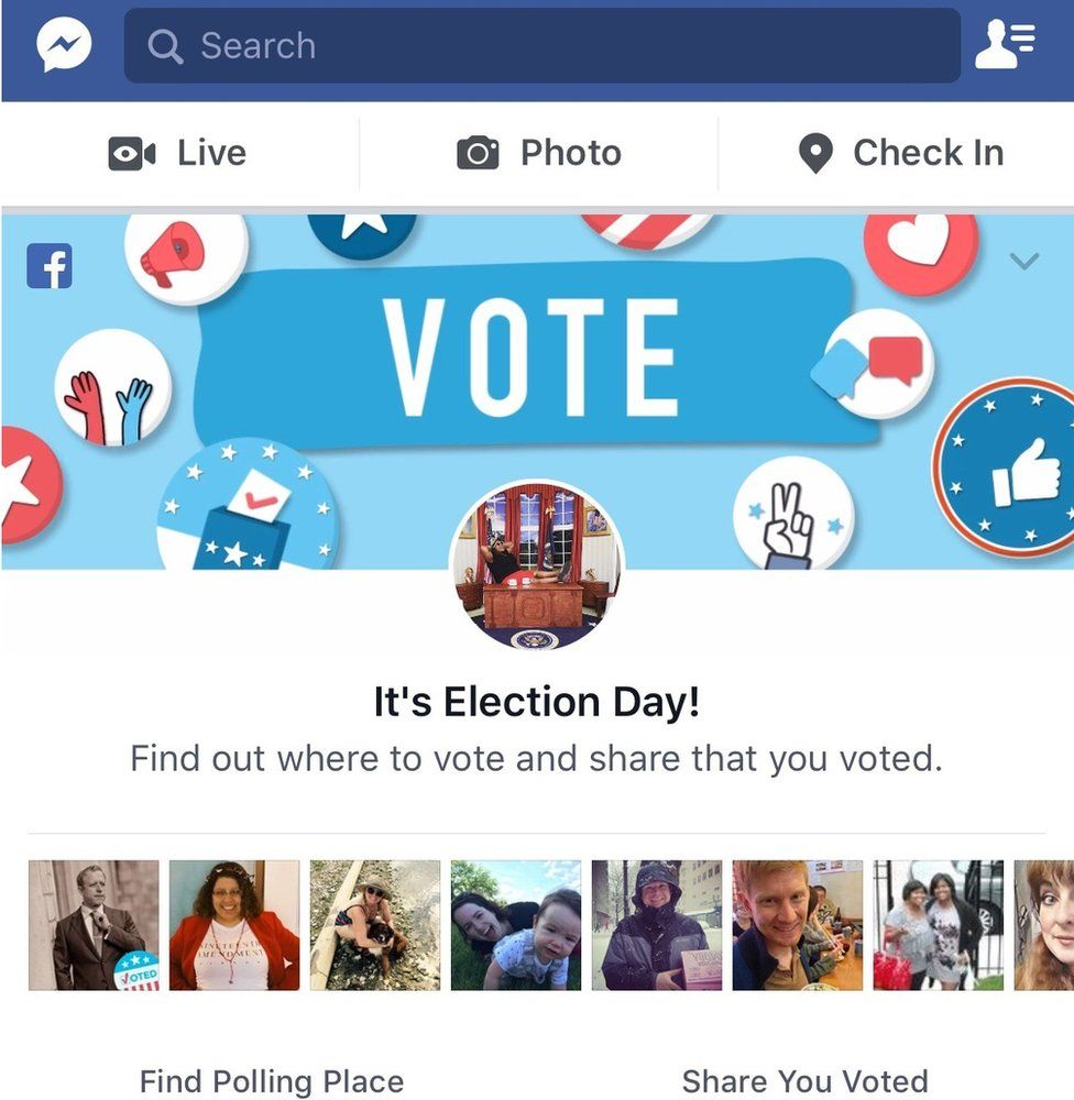 "Facebook's ""I voted"" widget"