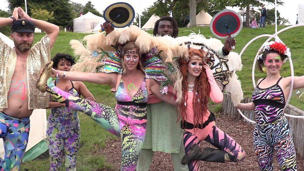 Wilderness Festival revellers