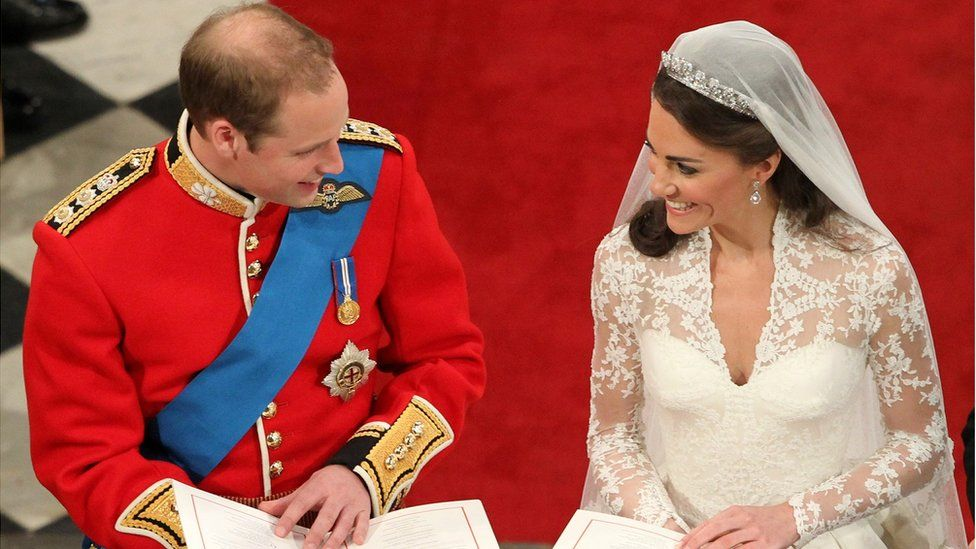 Wedding of the Duke and Duchess of Cambridge
