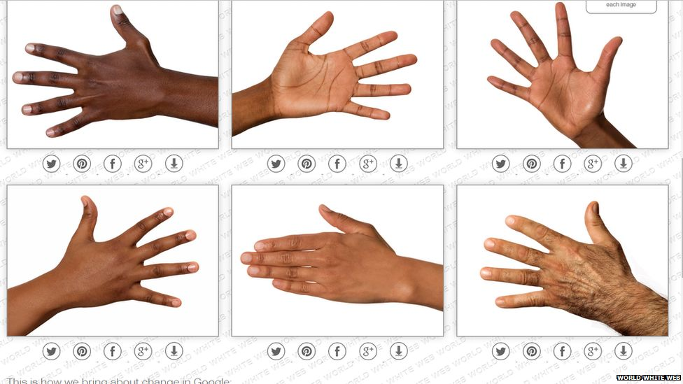 A print screen image of the pictures from the world white web site.