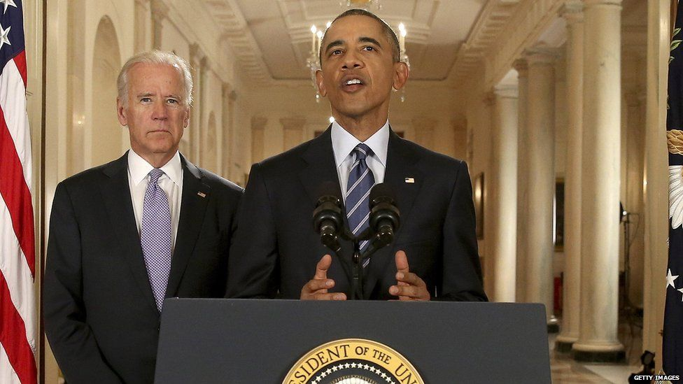 US President Barack Obama addresses the nation after the announcement of a nuclear deal with Iran (14 July 2015)