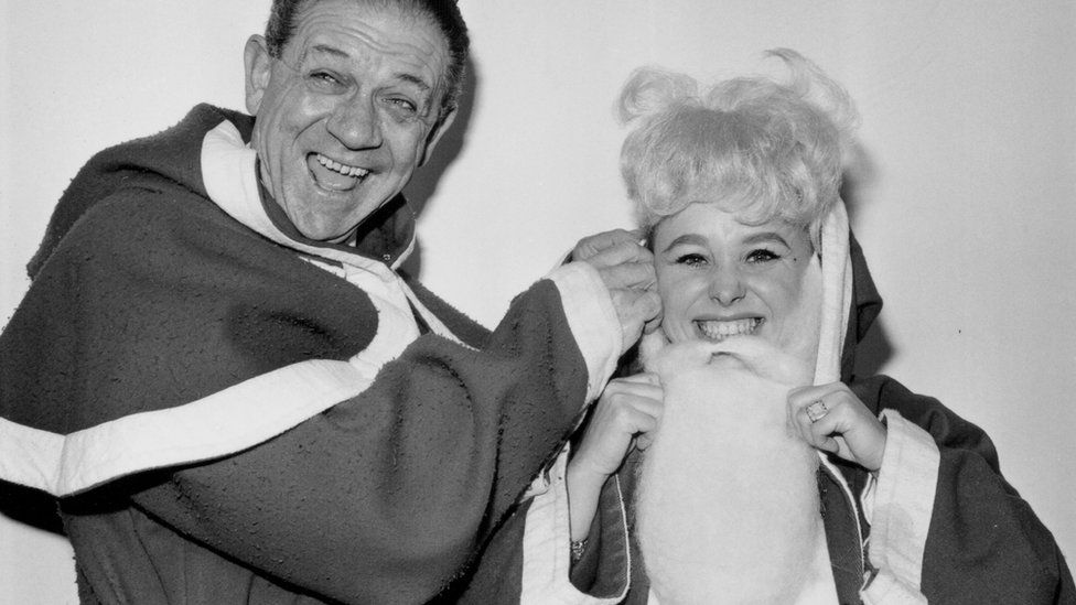 Sid James and Barbara Windsor
