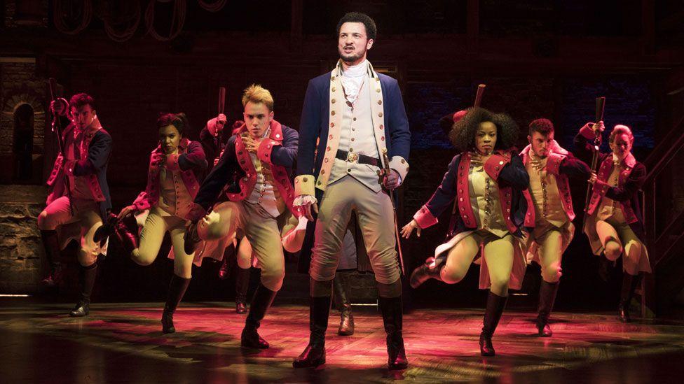 Jamael Westman as Alexander Hamilton in Hamilton