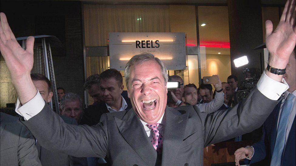 """Nigel Farage, líder del Brexit: """"La Unión Europea está muriendo"""""""