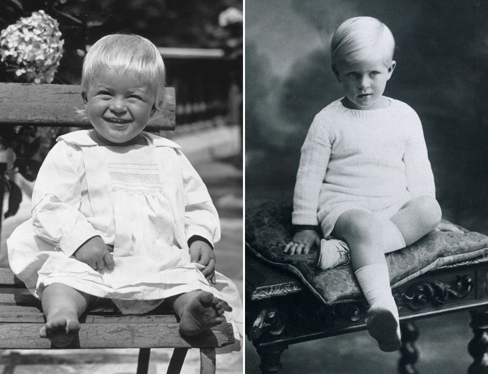 Philip as a young boy