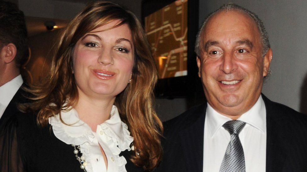 Karren Brady, Sir Philip Green attend The Evening Standard Influentials Party to celebrate the 1,000 most influential people in London at Altitude 360 on November 16, 2010