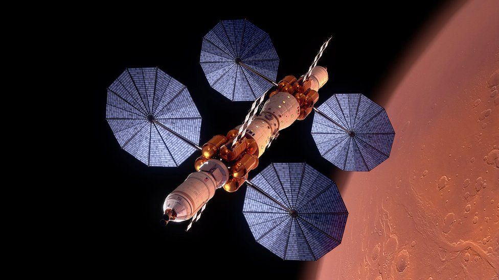 New engine tech that could get us to Mars faster