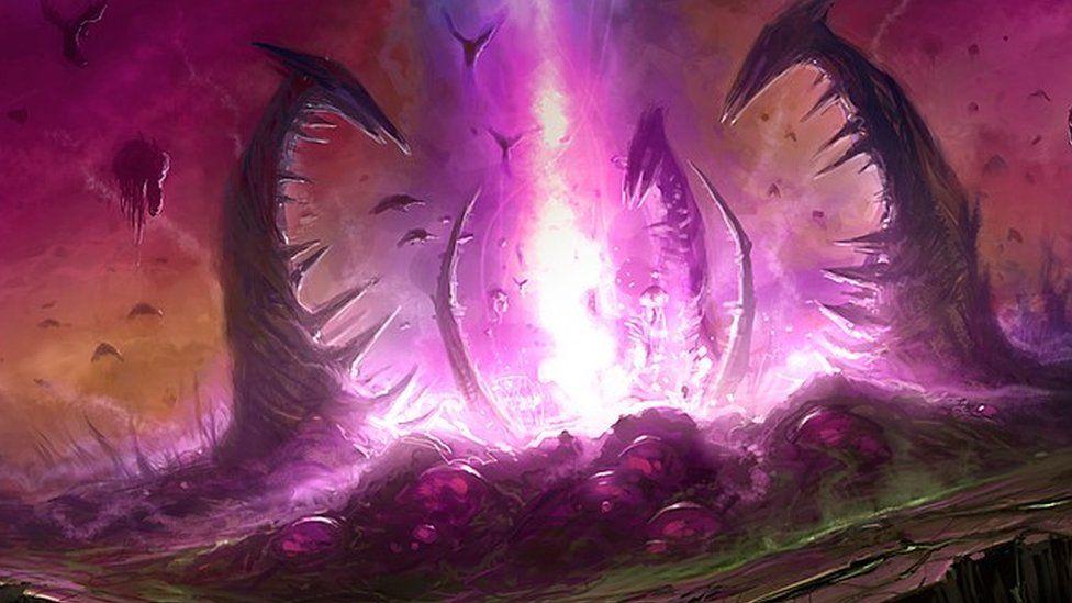 Artwork from StarCraft II