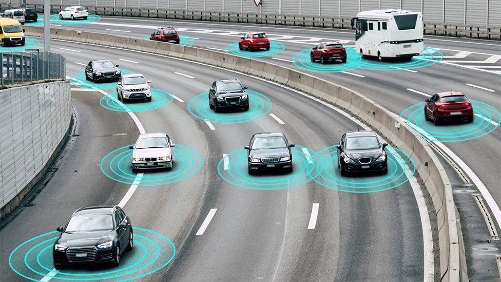 Artwork: Connected cars