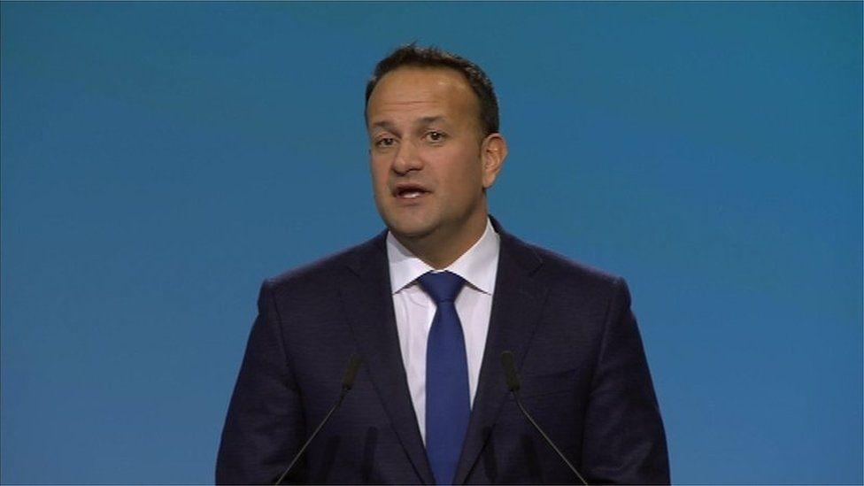 Taoiseach Leo Varadkar addressed his party's Ard Fheis tonight